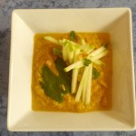 health, wellness, diet, dietitian, nutrition, nutritionist, michelle moreau, chef, healthy kitchen, healthcare, medical insurance, Portsmouth, NH, seacoast, celiac, cardiac, diabetes, diet, weight loss, recipe, couneling, healthcare, gluten free, cauliflower curry soup, apple sticks, cilantro, pine nuts, vegan, vegetarian, entree, appetizer, holiday, dinner, winter