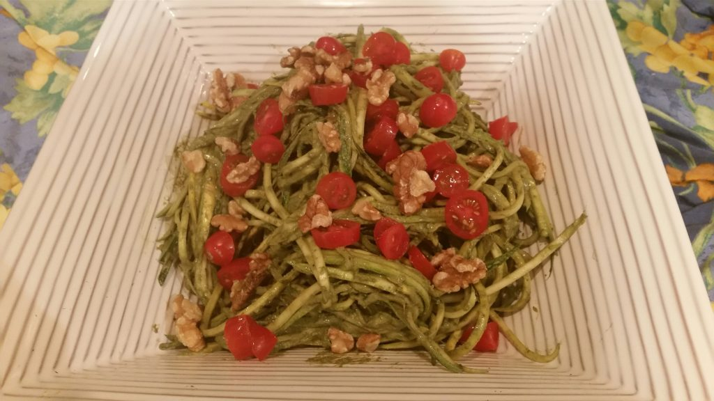 health, wellness, diet, dietitian, nutrition, nutritionist, michelle moreau, chef, healthy kitchen, healthcare, medical insurance, Portsmouth, NH, seacoast, celiac, cardiac, diabetes, diet, weight loss, recipe, couneling, healthcare, zucchini, zoodles, pasta, walnut, pesto, vegan, vegetarian, glutenfree, dairy free