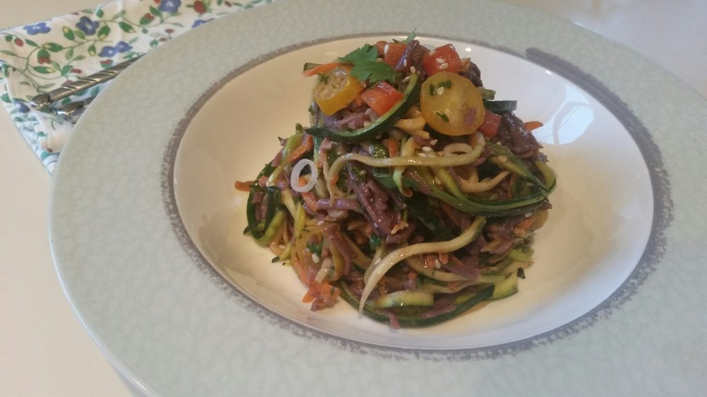 zoodle, noodle, asian, zucchini, pasta, multiveggie, vegetables, vegan, vegetarian, diet, registered dietitian, michelle moreau, healthy kitchen, health, wellness, cardiac, diabetes, weight loss, celiac, gluten, healthcare, medical, counseling