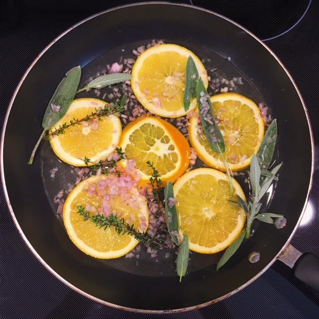 nutrition, dietitian, nutritionist, recipe, salmon, chef, orange, herbs, healthy kitchen, Portsmouth, New Hampshire